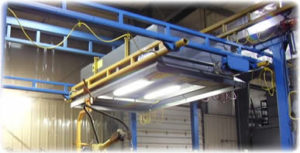 Industrial Ventilation System Featuring Model RH60-3 of Robotic and Automated Welding Cells