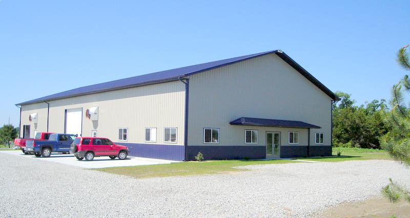 Second location of Industrial Maid Industrial Air Filtration and Ventilation shop in Cortland, Nebraska started by Jeff Zvolanek and Todd Adams in 2006.
