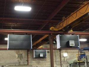 Industrial Maid Ambient Air Cleaners for Welding Bays