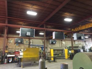 Industrial Maid Ambient Air Cleaners for Welding Bays, T6000