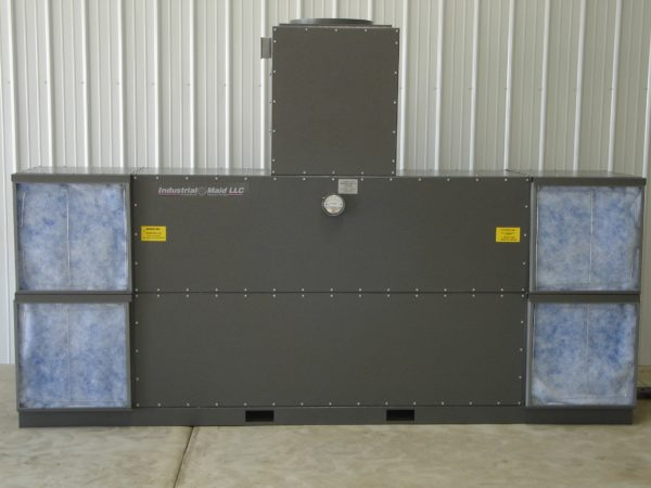 Industrial Maid FW60-2 Backdraft Filtration Industrial Air Cleaner