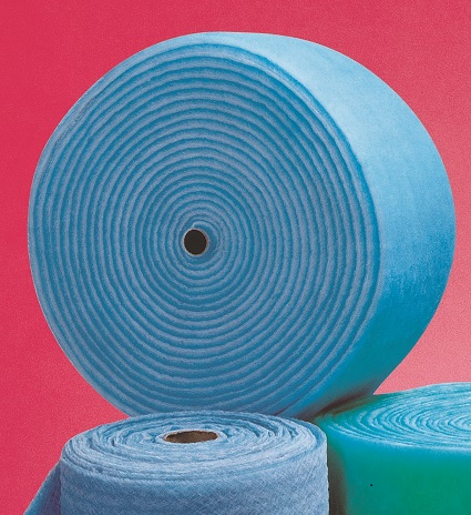 Poly pad filter rolls
